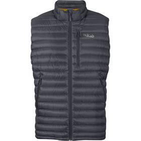 Rab Microlight Vest Men beluga-dijon